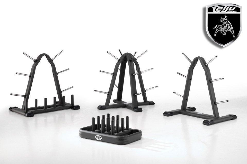 Si os gusta tener todo ordenado en el gimnasio vais a disfrutar con nuestros soportes para barras y discos