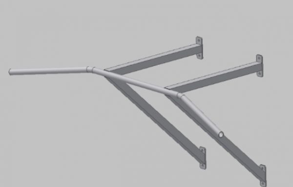 4SHO408 / 0 Wall pull-up bar